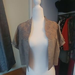 BCBG Cropped Bolero Jacket